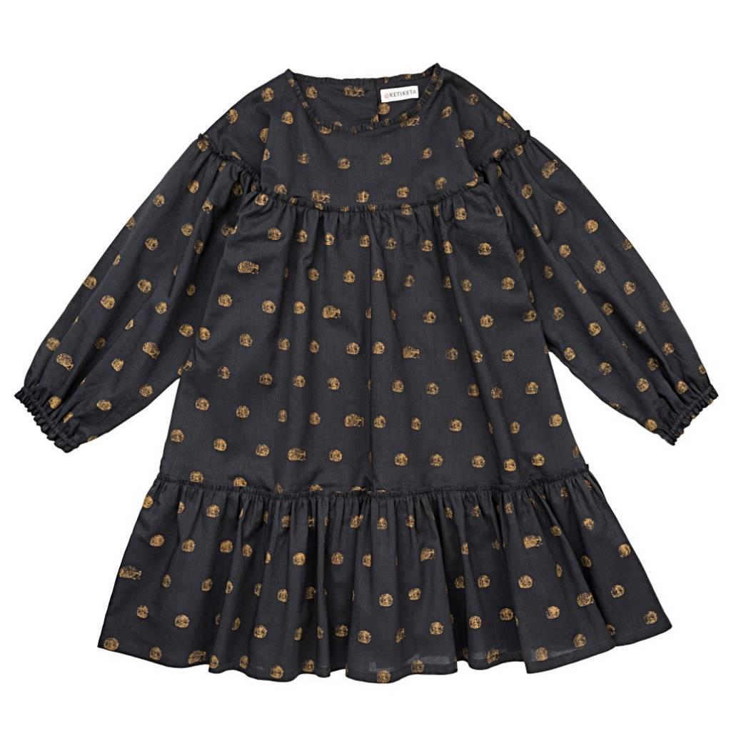 Jeanne Dress Charcoal