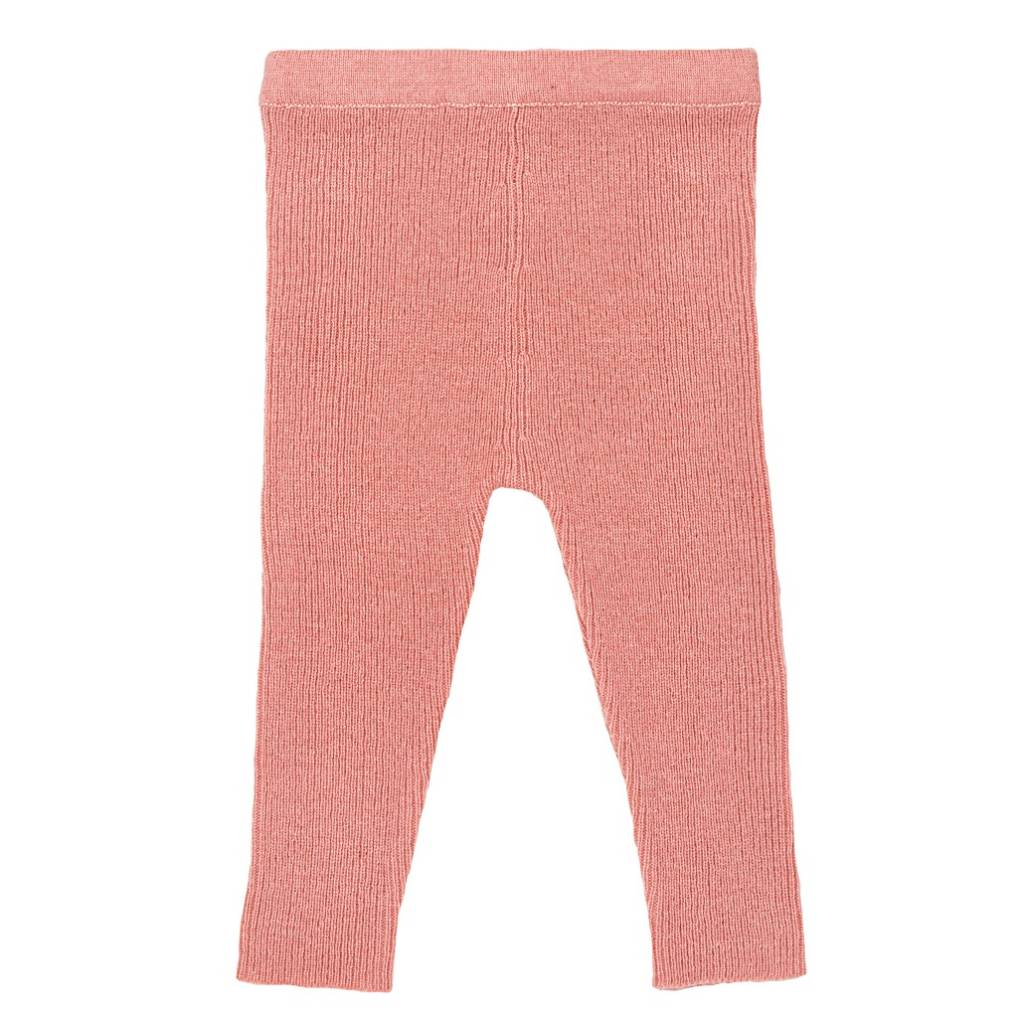 Woolen Leggings Rose
