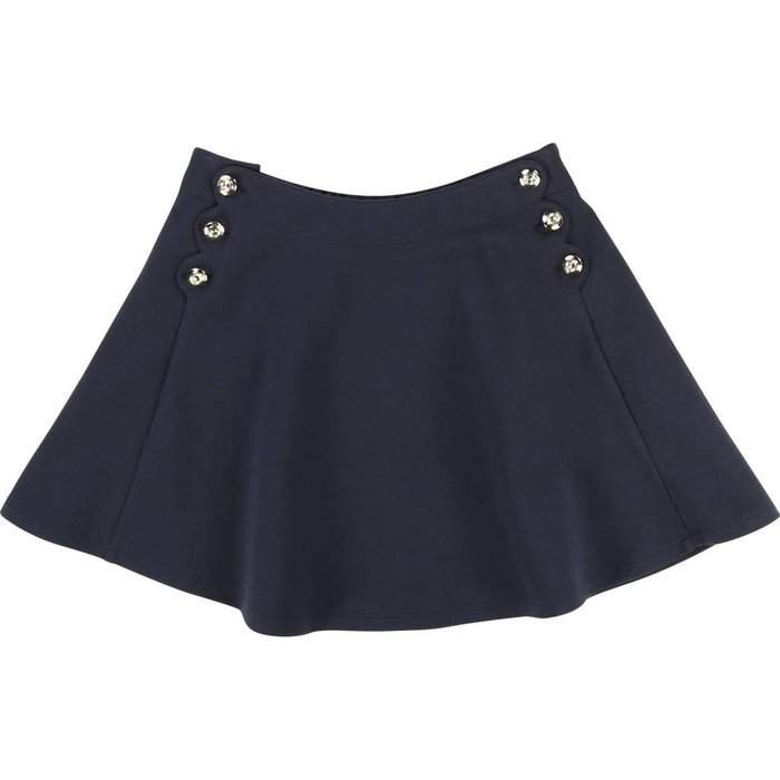 Milano Skirt with Buttons Marine