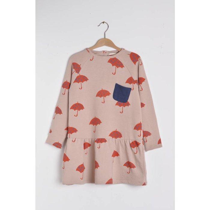 Dress Parapluie Pink/red