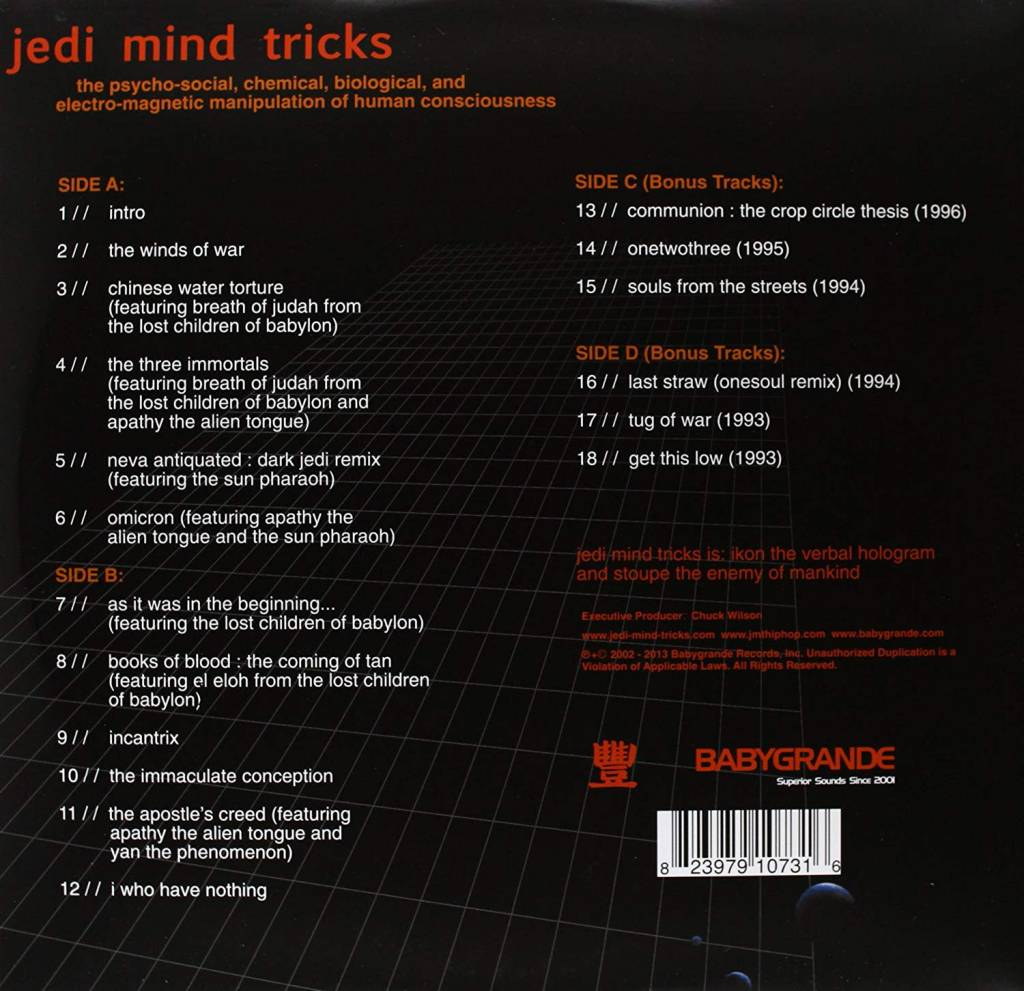 Jedi Mind Tricks - The Psycho-Social, Chemical, Biological, And Electro-Magnetic Manipulation Of Human Consciousness