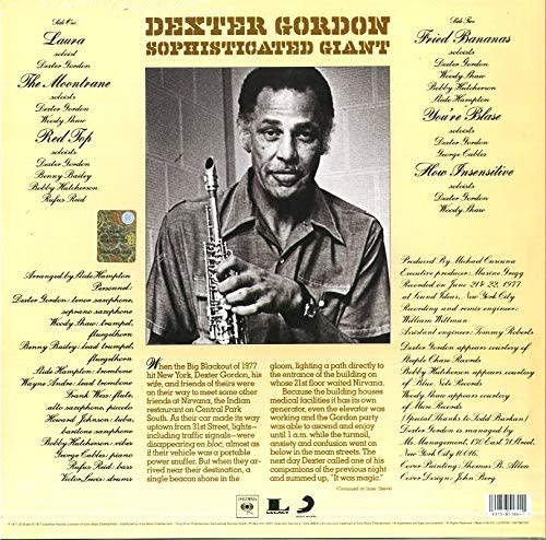 Dexter Gordon ‎– Sophisticated Giant