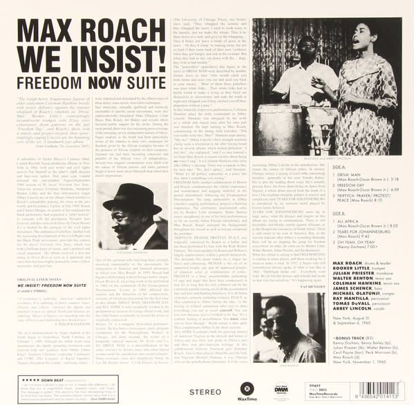 Max Roach - We Insist! Max Roach's Freedom Now Suite