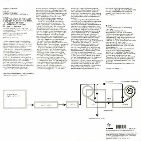 Brian Eno – Discreet Music