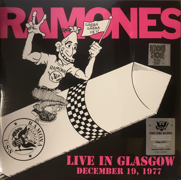 Ramones – Live In Glasgow December 19, 1977