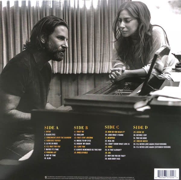 Lady Gaga, Bradley Cooper ‎– A Star Is Born Soundtrack