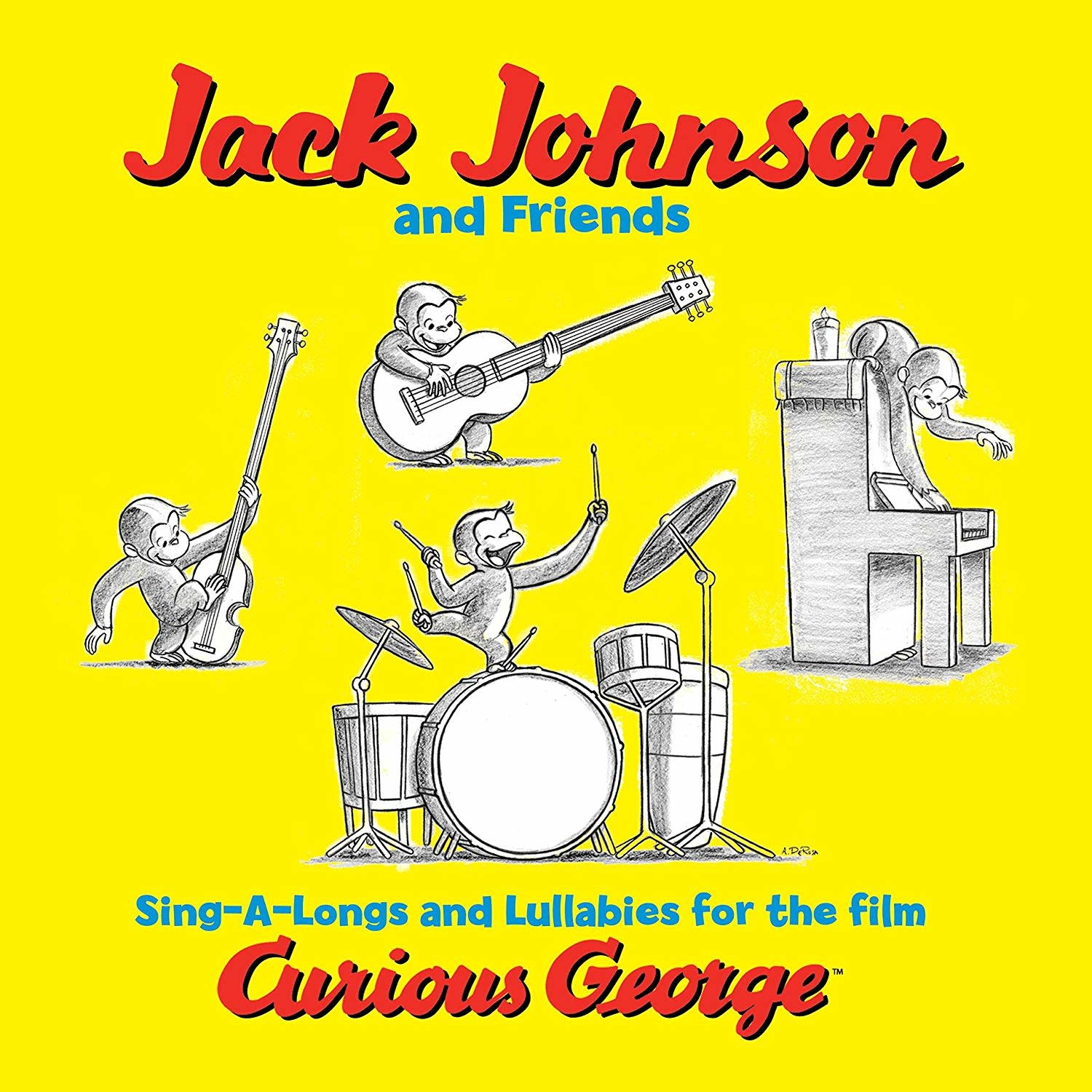 Jack Johnson And Friends – Sing-A-Longs And Lullabies For The Film Curious George