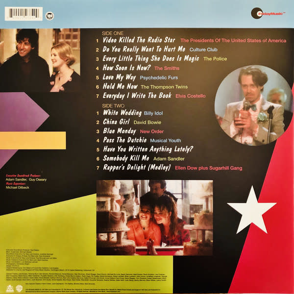 Various – The Wedding Singer (Music From The Motion Picture)