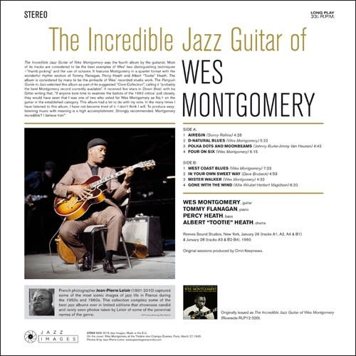 Wes Montgomery - The Incredible Jazz Guitar Of