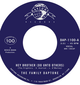 Family Daptone/100 Knights Orchestra – Hey Brother (Do Unto Others) / Soul Fugue