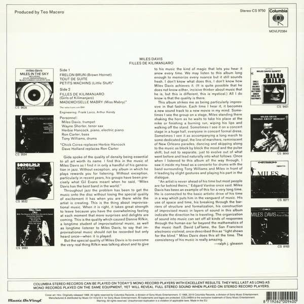 Miles Davis – Filles De Kilimanjaro