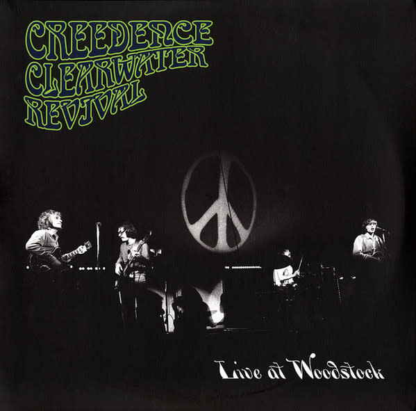 Creedence Clearwater Revival ‎– Live At Woodstock