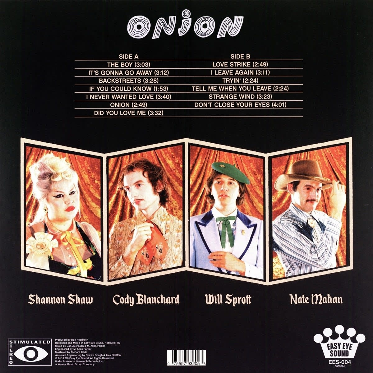 Shannon & The Clams ‎– Onion