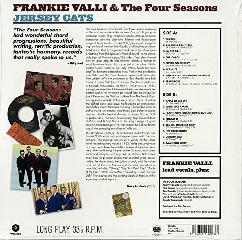 Frankie Valli & The Four Seasons - Jersey Cats