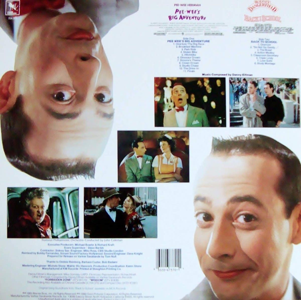 Danny Elfman - Pee-Wee's Big Adventure/Back To School - Original Motion Picture Scores