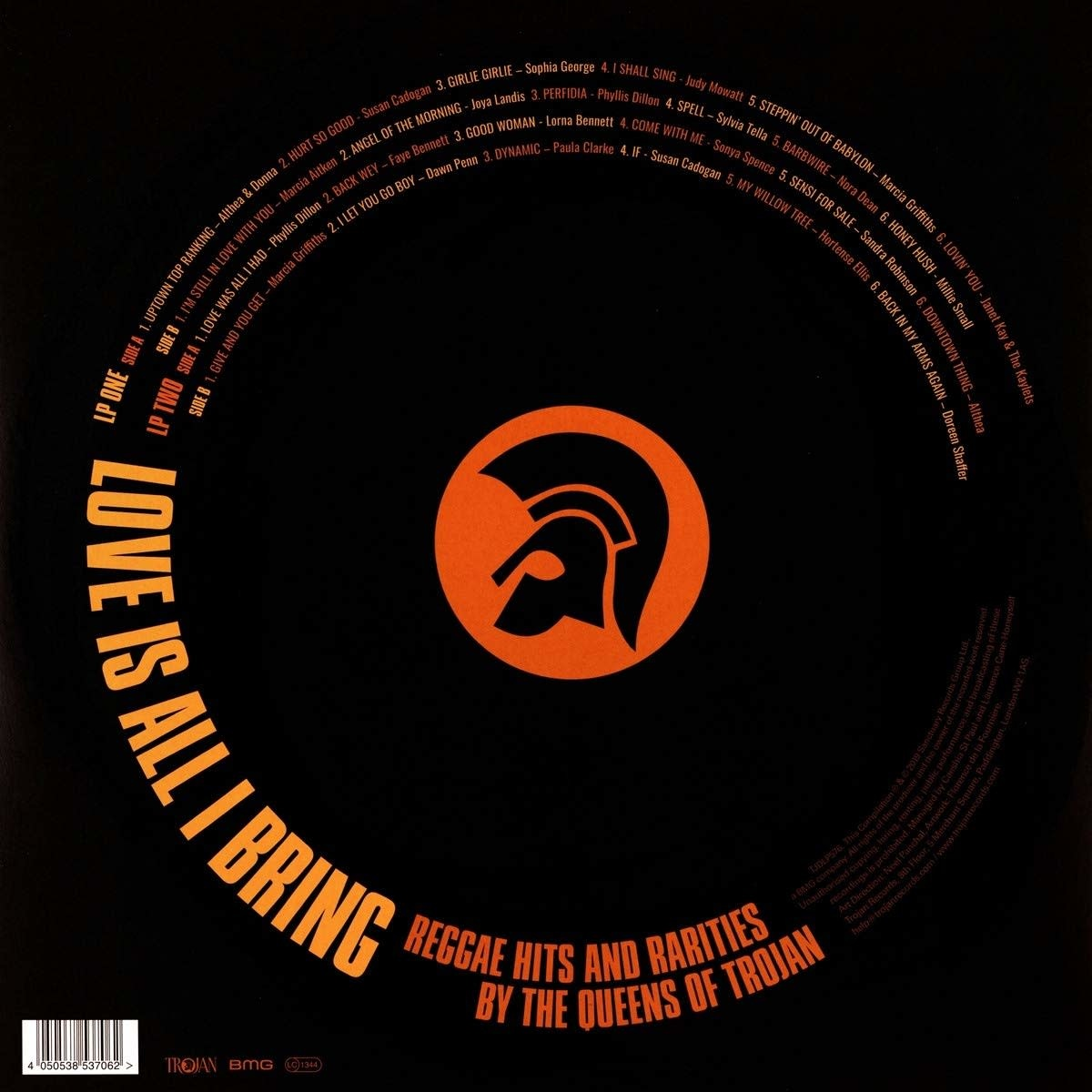 Various - Love Is All I Bring: Reggae Hits And Rarities By The Queens Of Trojan