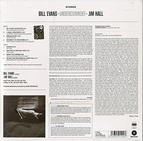 Bill Evans & Jim Hall – Undercurrent