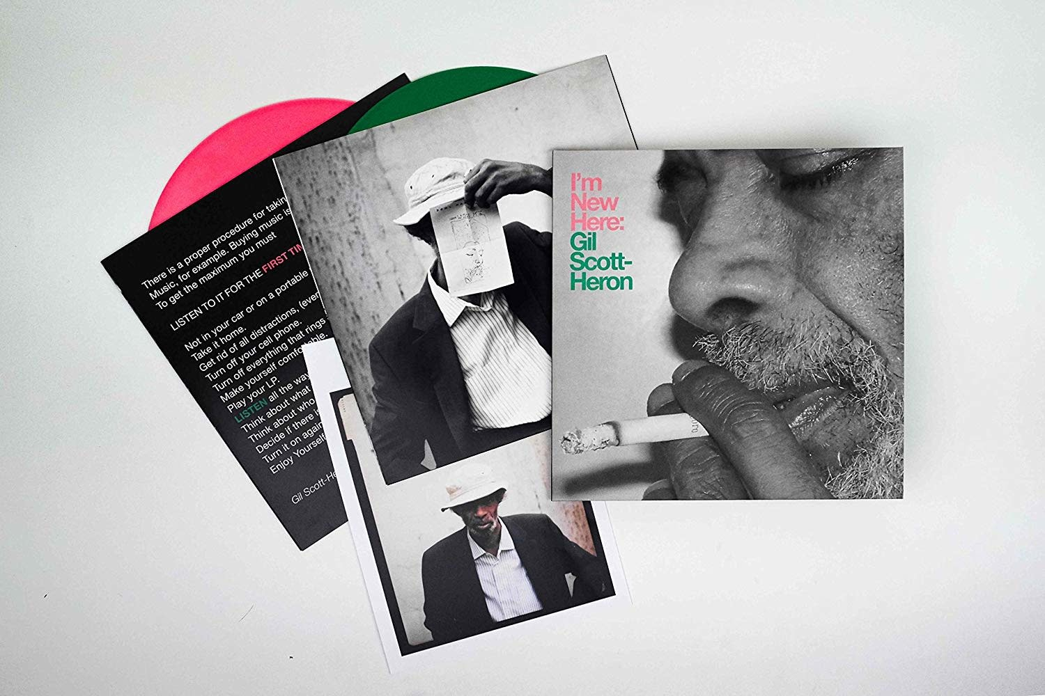 Gil Scott-Heron ‎– I'm New Here (10th Anniversary Expanded Edition)