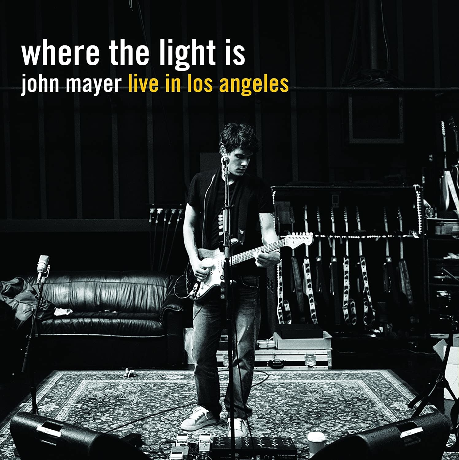 John Mayer ‎– Where The Light Is: John Mayer Live In Los Angeles