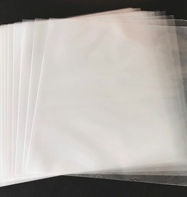 "100 Clear 12"" Poly Outer Sleeves"