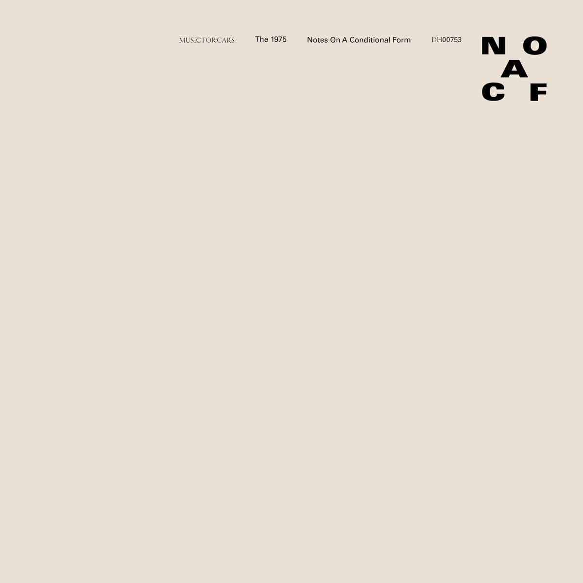 1975 – Notes On A Conditional Form (Clear Vinyl)