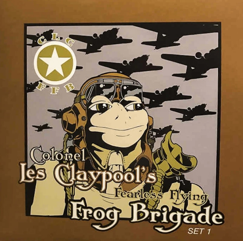 Colonel Les Claypool's Fearless Flying Frog Brigade ‎– Live Frogs Set 1 & 2