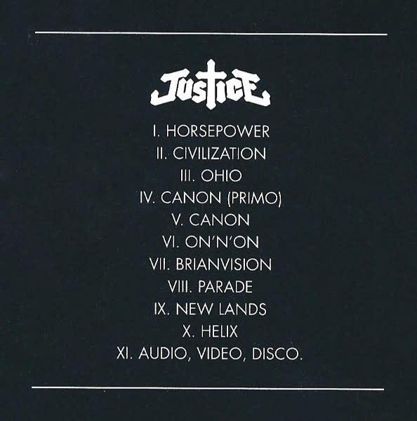 Justice - Audio Video Disco