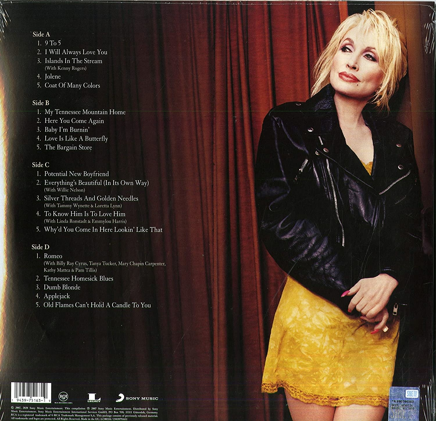 Dolly Parton – The Very Best Of Dolly Parton