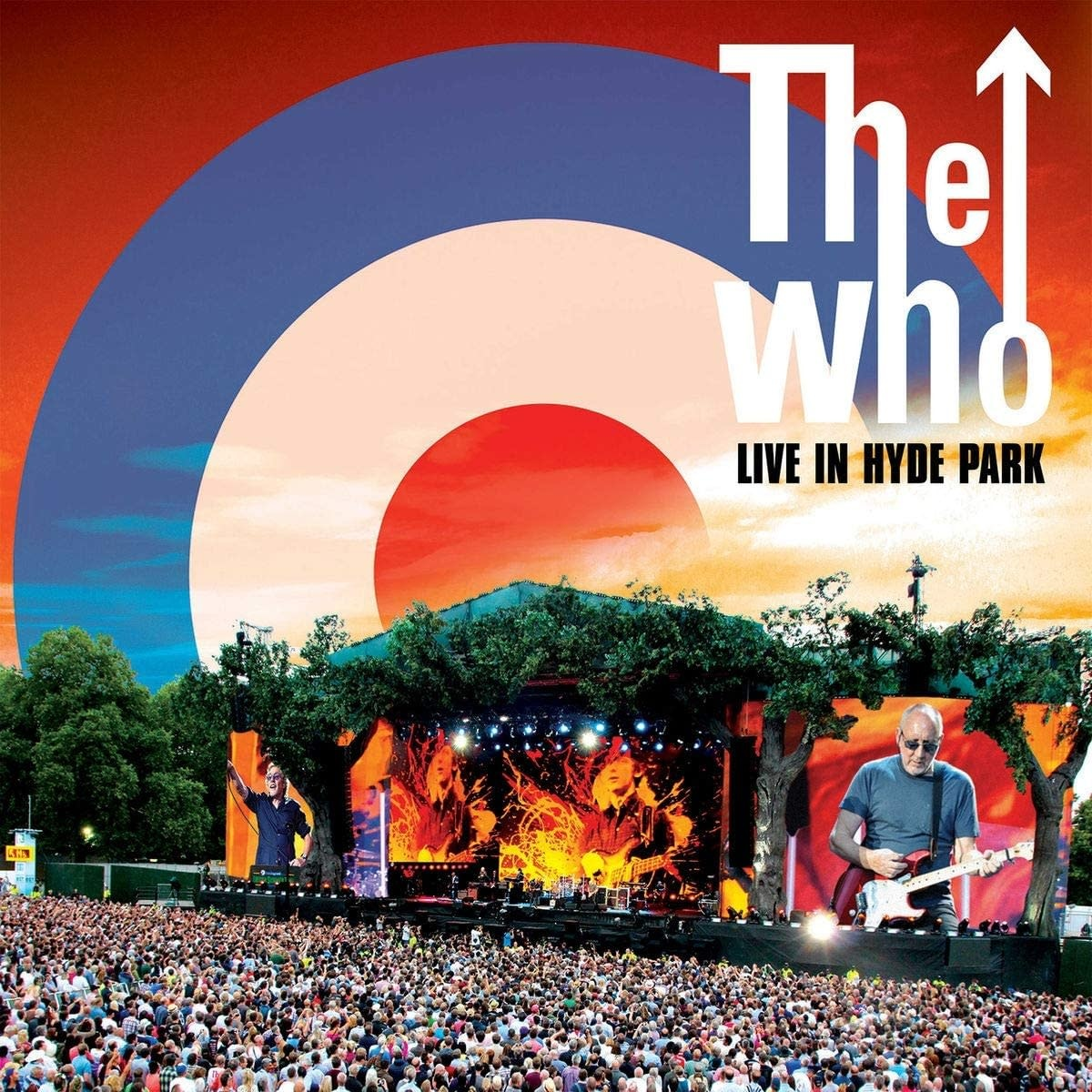 Who ‎– Live In Hyde Park