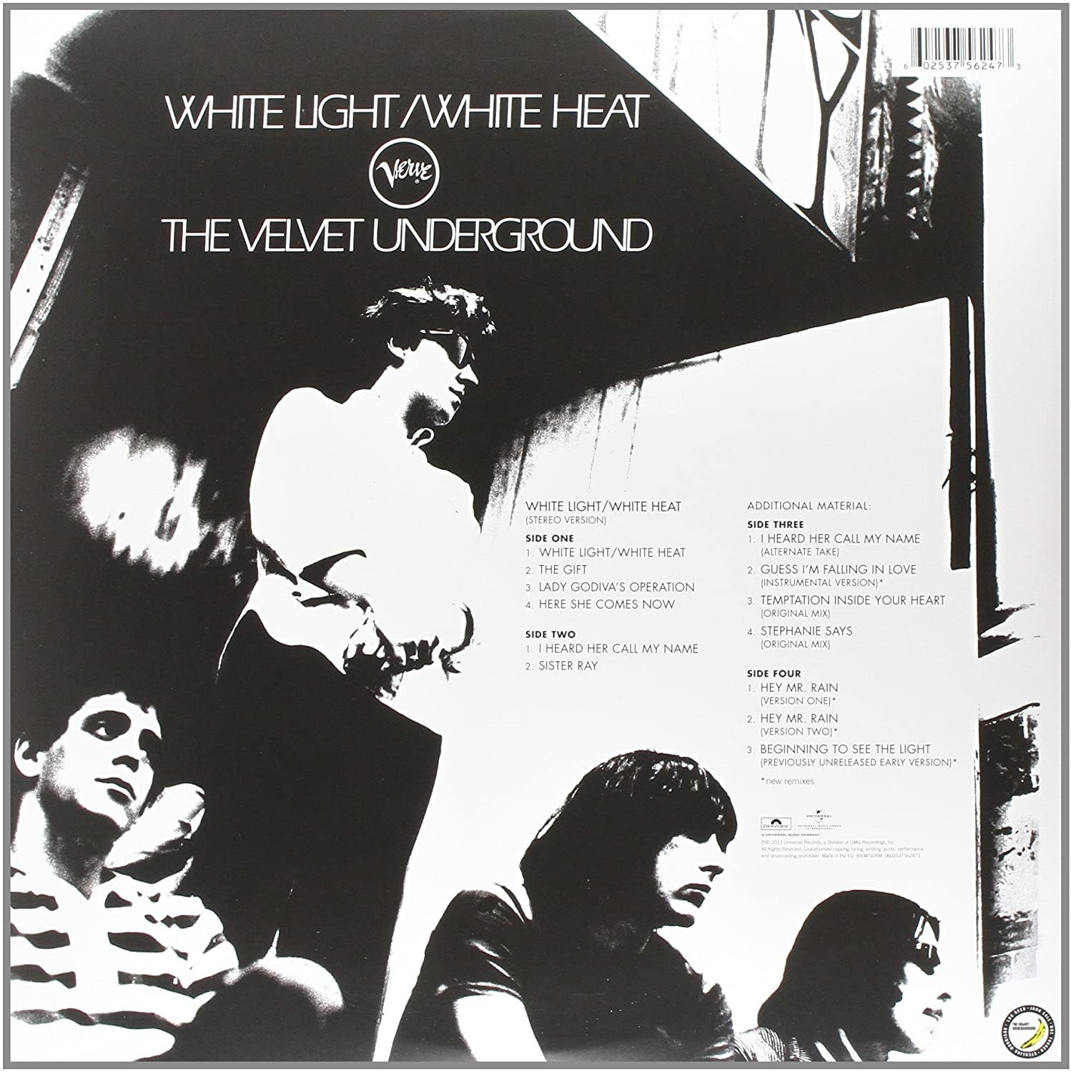 Velvet Underground ‎– White Light/White Heat