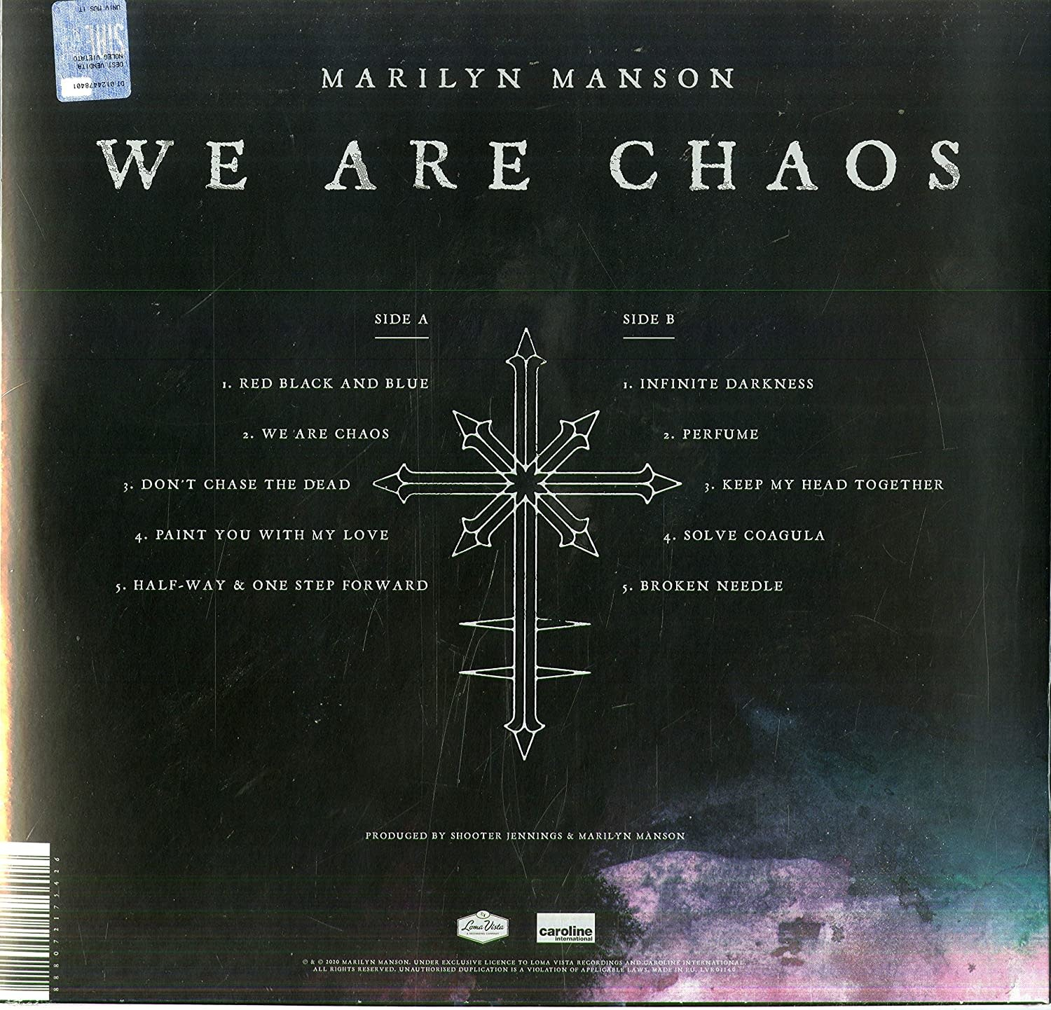 Marilyn Manson ‎– We Are Chaos