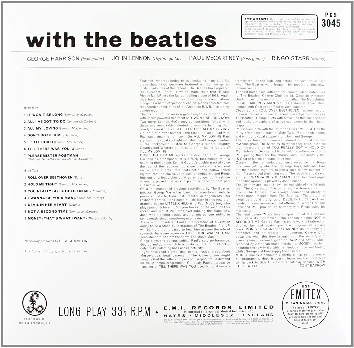 Beatles – With The Beatles