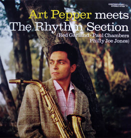 Art Pepper ‎– Meets The Rhythm Section