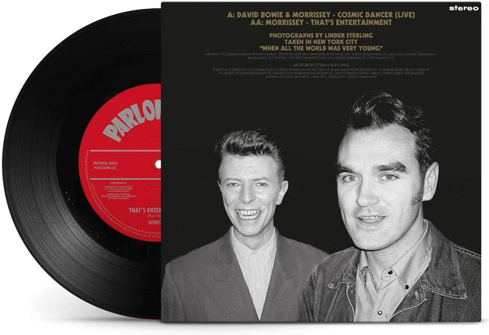 David Bowie & Morrissey – Cosmic Dancer (Live)