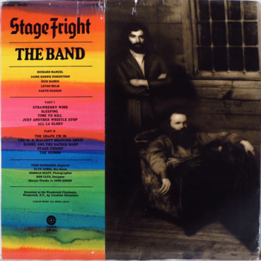 Band ‎– Stage Fright