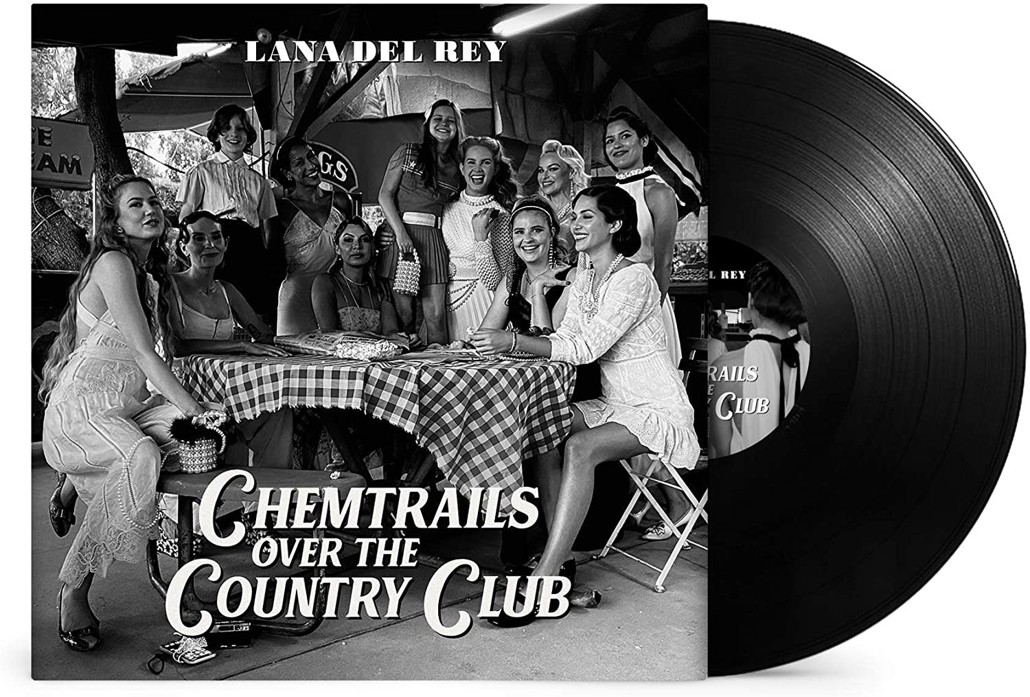 Lana Del Rey ‎– Chemtrails Over The Country Club