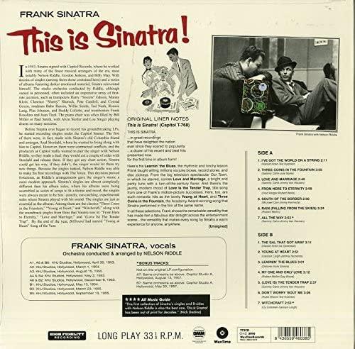 Frank Sinatra – This Is Sinatra!