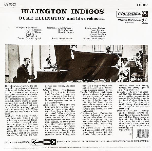 Duke Ellington And His Orchestra – Ellington Indigos