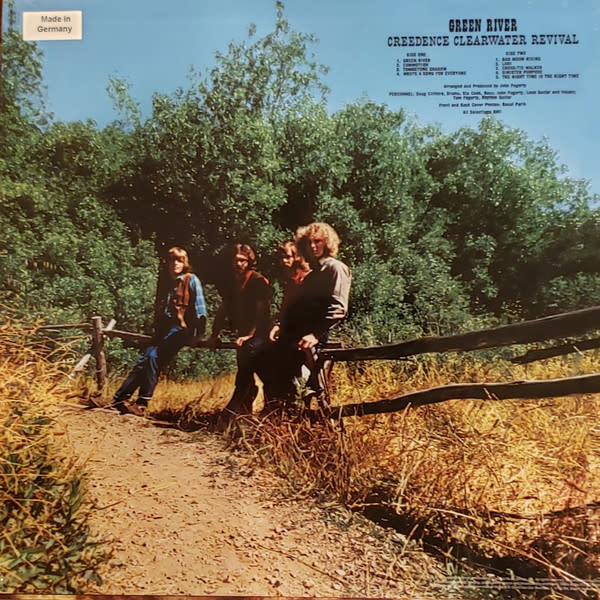 Creedence Clearwater Revival – Green River  (50th Anniversary Half-Speed Master Vinyl)