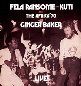 Fela Kuti - Live: With Ginger Baker