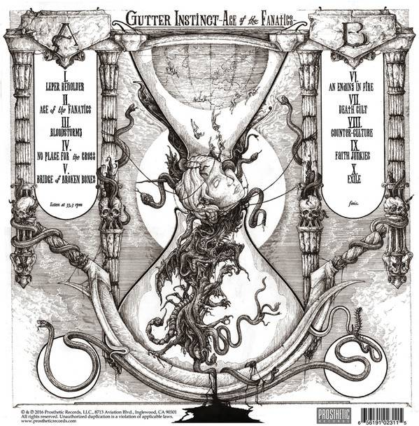 Gutter Instinct - Age Of Fanatics