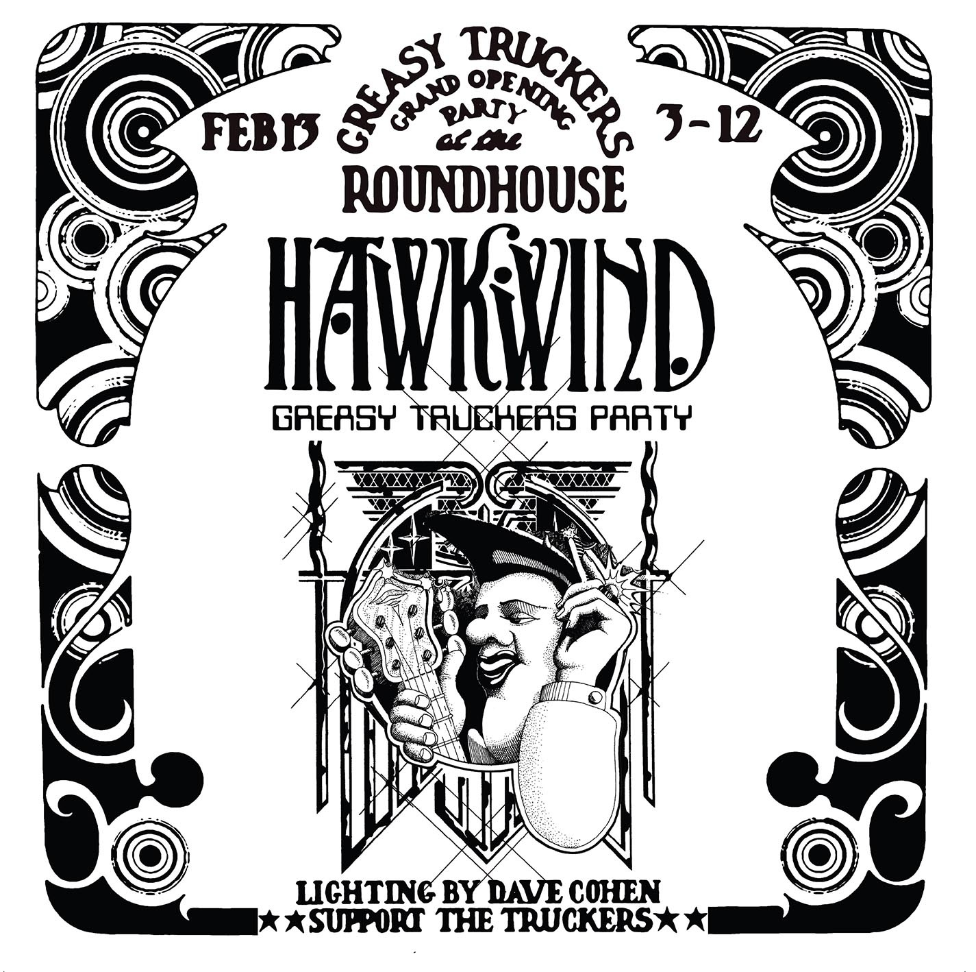 Hawkwind - Greasy Truckers Party