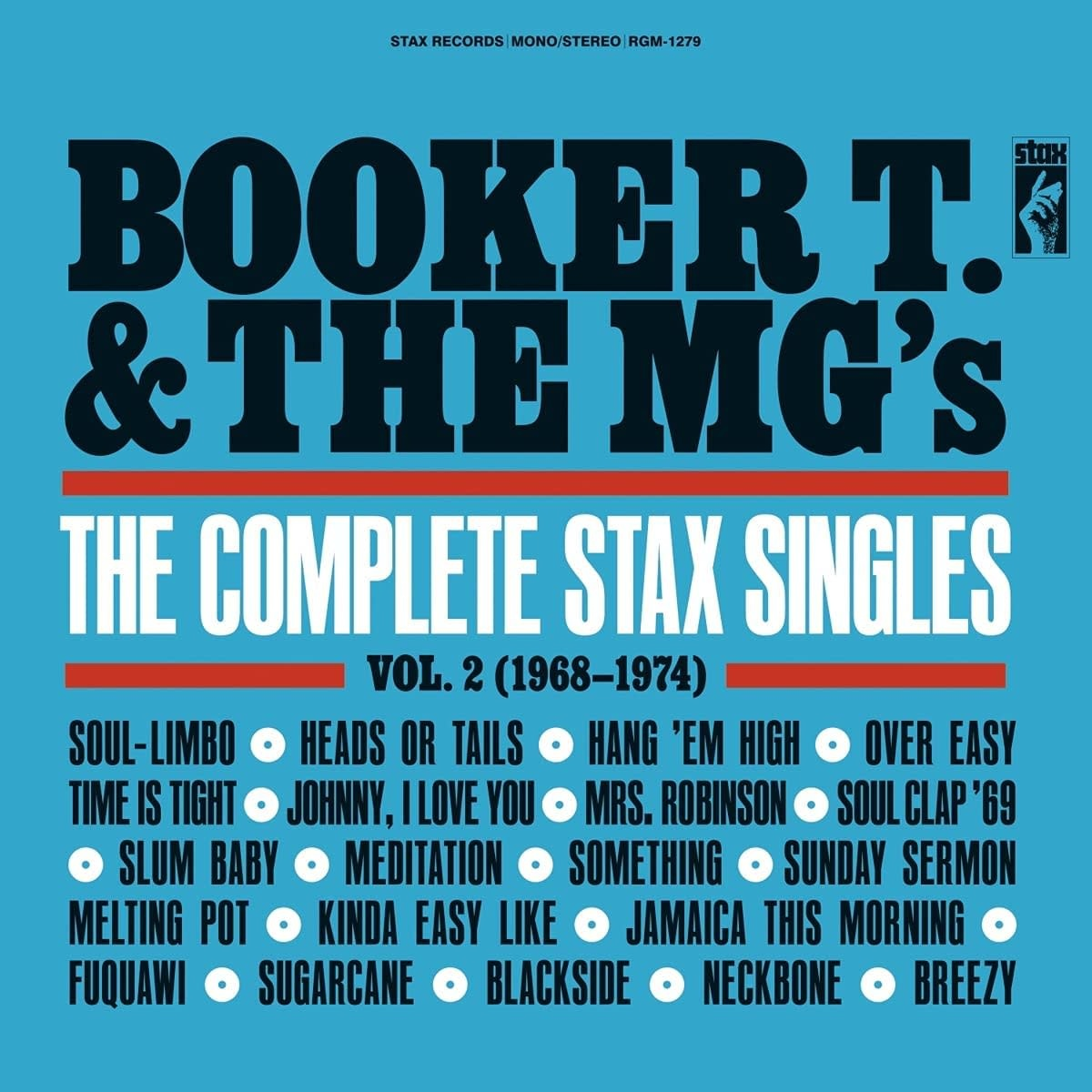 Booker T. & The Mg's - The Complete Stax Singles Vol. 2 (1968-1974)