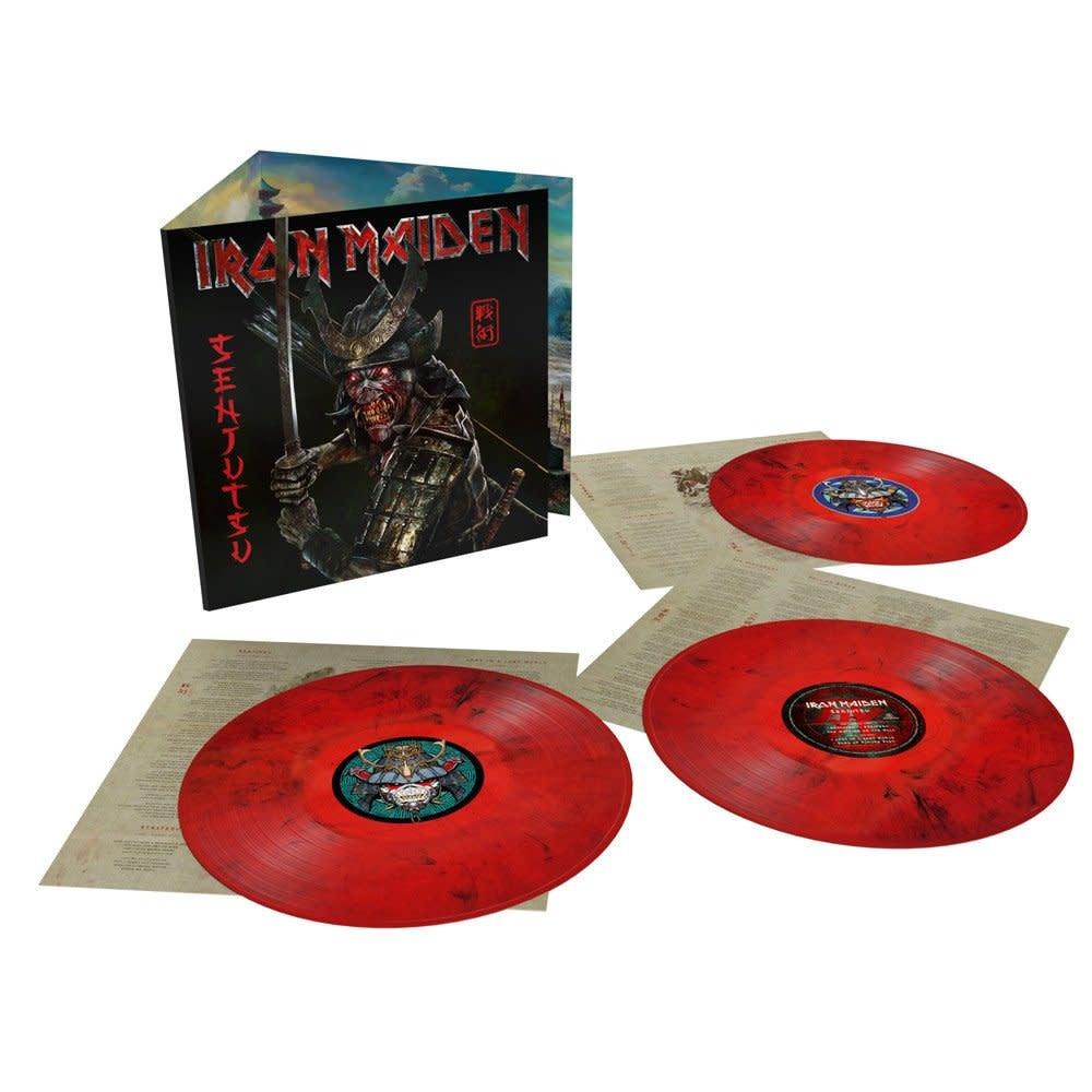 Iron Maiden – Senjutsu (Red & Black Marble)