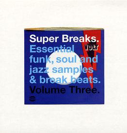 Various – Super Breaks. Essential Funk, Soul And Jazz Samples & Break Beats. Volume Three