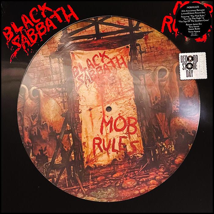 Black Sabbath - Mob Rules (Picture Disc)