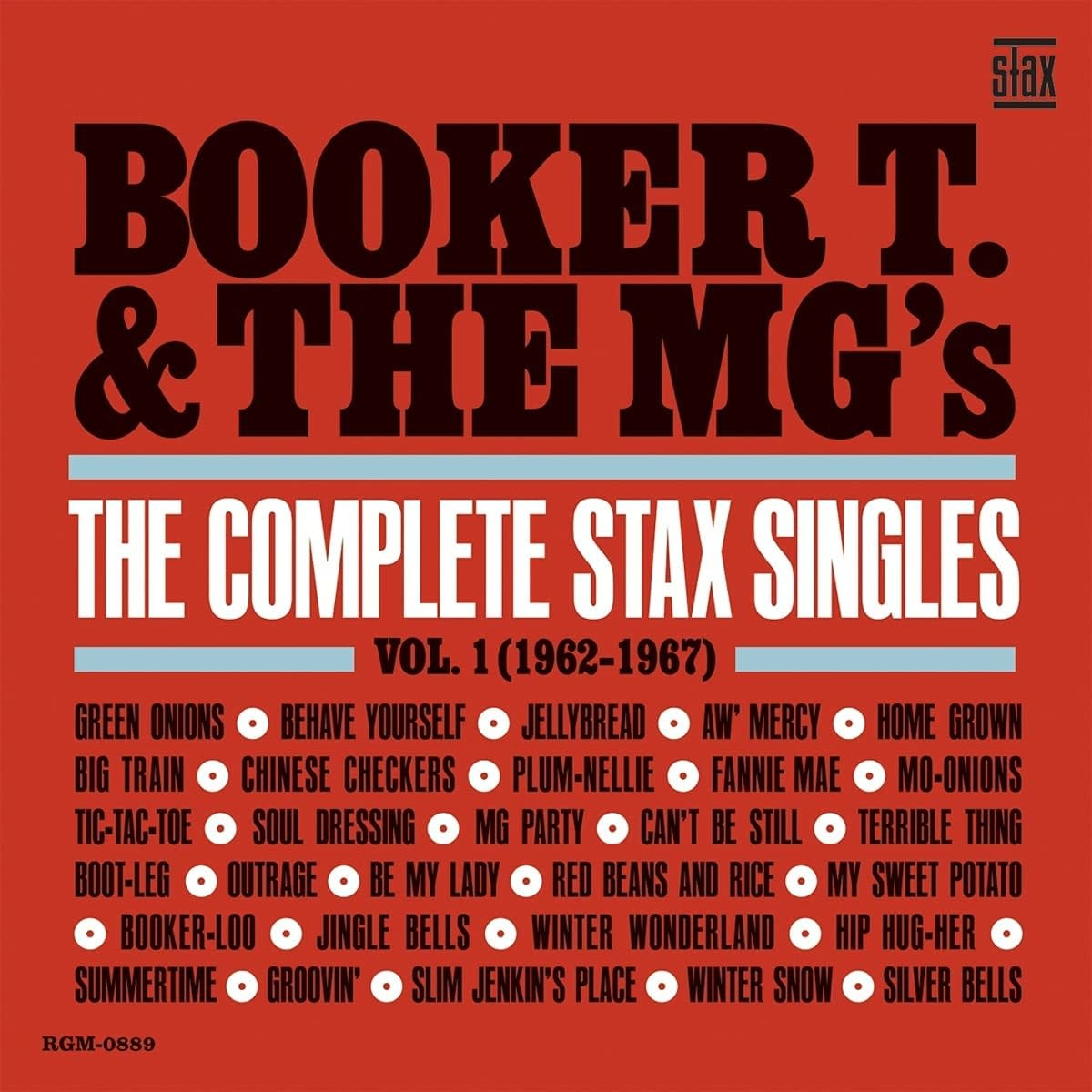 Booker T. & The MG's – The Complete Stax Singles, Vol. 1 (1962-1967)