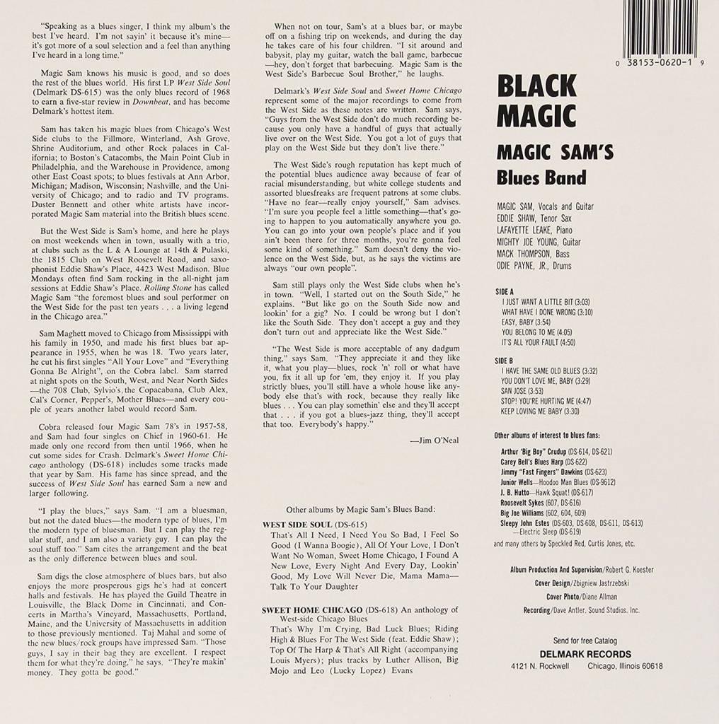 Magic Sam - Black Magic