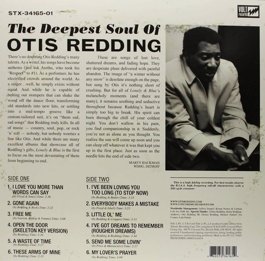 Otis Redding - Lonely & Blue: The Deepest Soul of Otis Redding