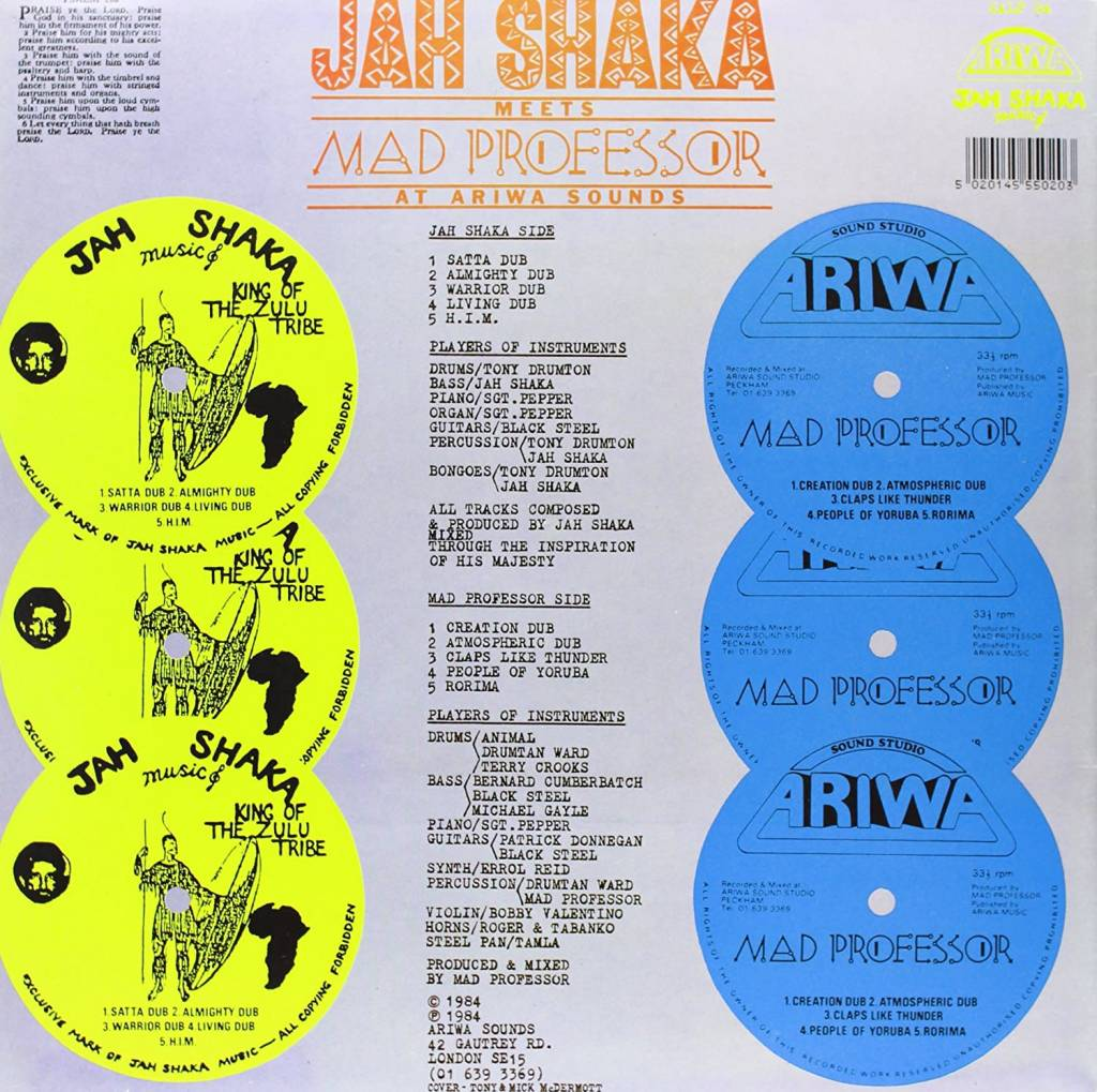 Jah Shaka & Mad Professor - Jah Shaka Meets Mad Professor At Ariwa Sounds